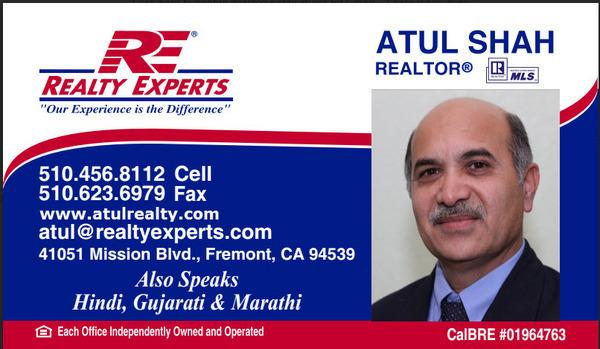 Fremont, Vacant Land / Lot,  for sale, Atul Shah, REALTY EXPERTS®